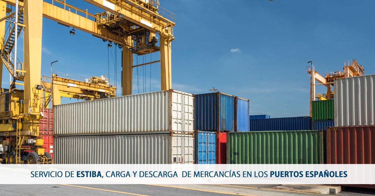 problematica servicio de estiba carga y descarga puertos españoles