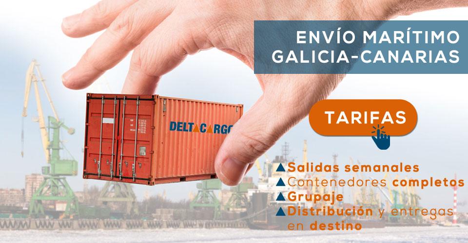 Servicio de transporte mar timo a canarias desde galicia deltacargo - Transporte entre islas canarias ...