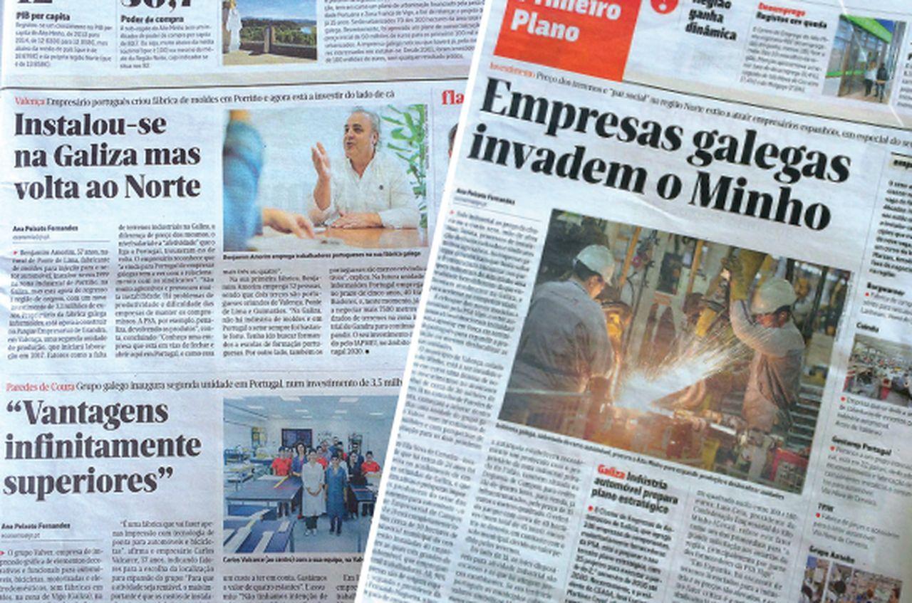 empresas españolas se instalan en portugal