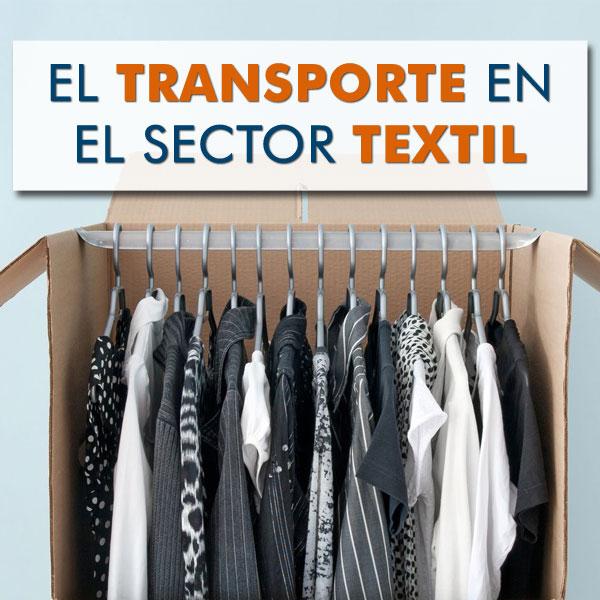 transporte aereo maritimo y terrestre en el sector textil