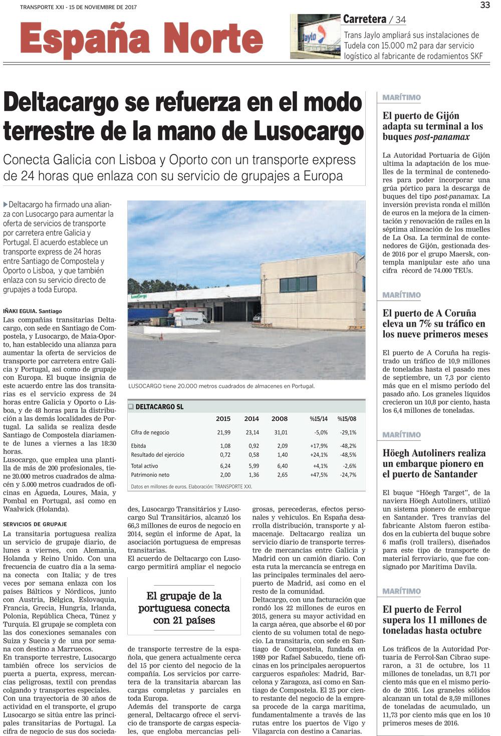 Servicio transporte terrestre a diario entre Galicia y Portugal